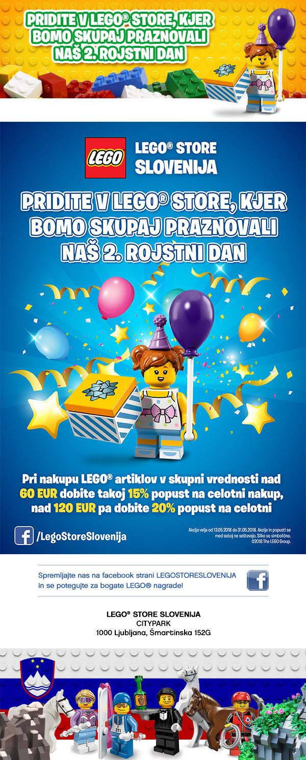 LEGO Store_vizual_praznovanje drugega rojstnega dne
